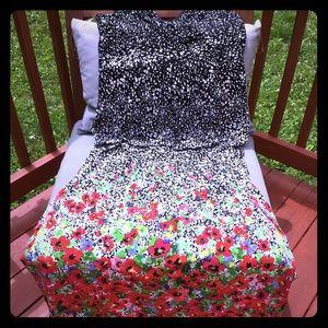 Chaps Floral Maxi Dress